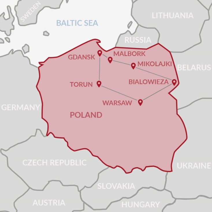 UNESCO Sites in North of Poland