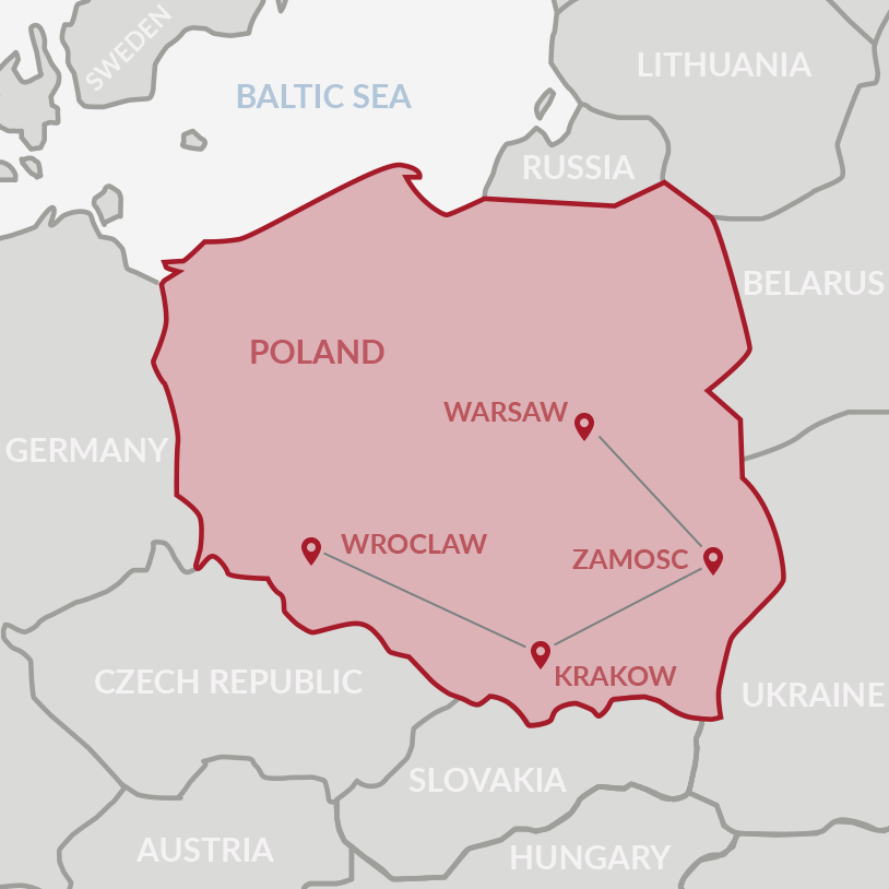UNESCO sites in Southern Poland